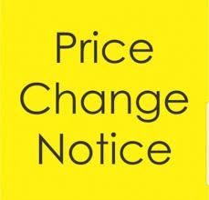 Mandated Price Increase for Sporting Events (Click for Info.)