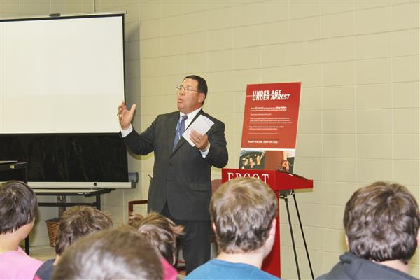 ABC Board's Anti-Underage Drinking Program visits E.P.C.O.T.