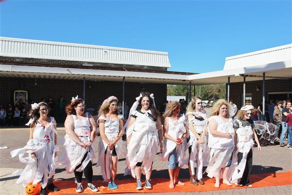 Cosmetology Students Presents Zombie Walk